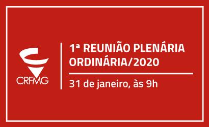 1ª REUNIÃO PLENÁRIA ORDINÁRIA/2020
